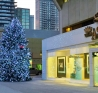We install larger than life Christmas trees at hot-spots around the city!